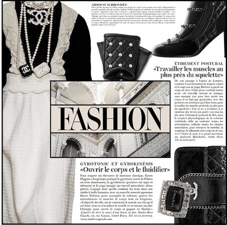 Runway Series: Chanel Sweater Dress & Fingerless Gloves