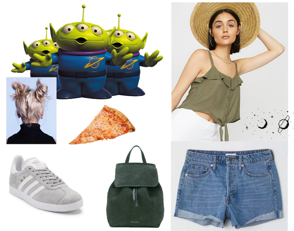 Toy Story Alien Disneybound
