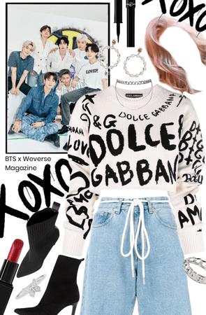 BTS x Weverse Magazine