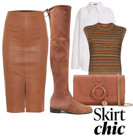 skirt chic