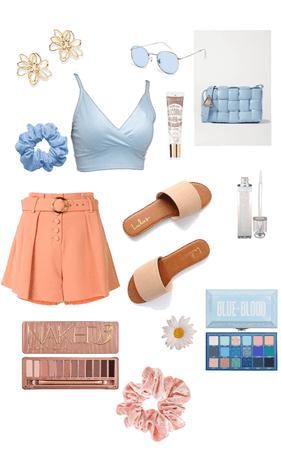 mostly blue