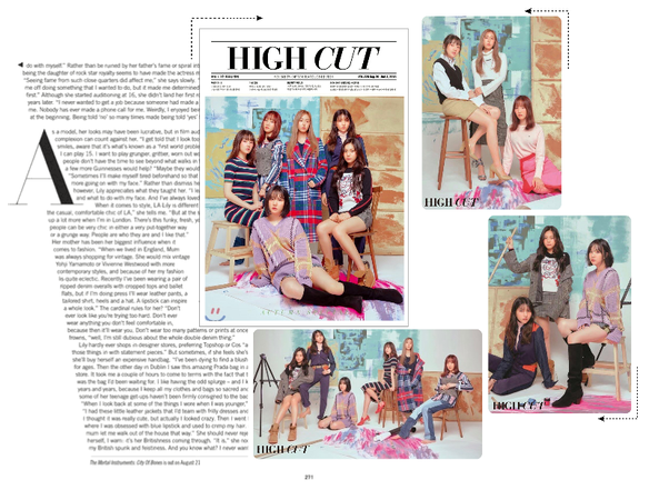 《6mix》High Cut Magazine