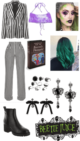 beetle juice outfit