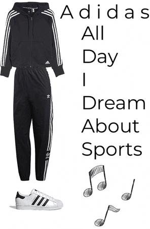 Sporty adidas