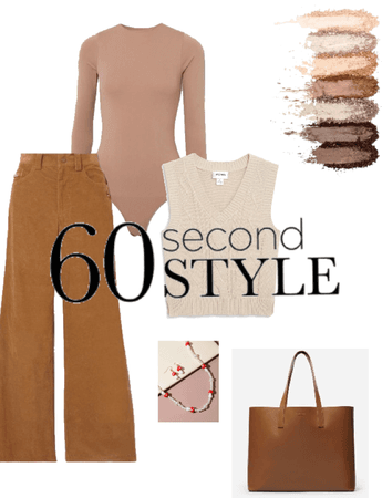 brown and beige