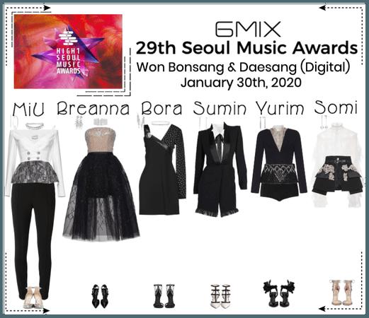 《6mix》29th Seoul Music Awards