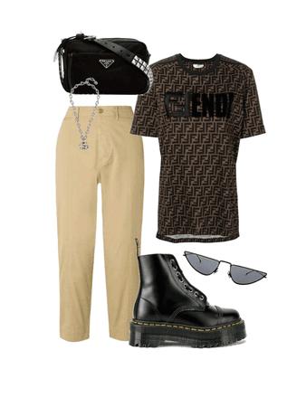 khaki streetwear