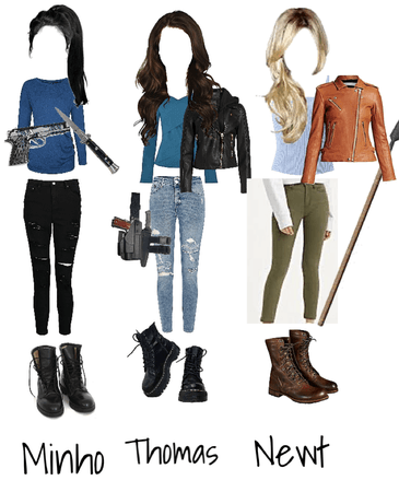 The maze runner female outfits
