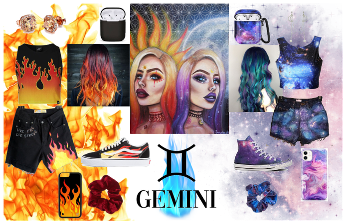 Gemini Twin Girls