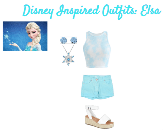 Disney Inspired Outfits: Elsa