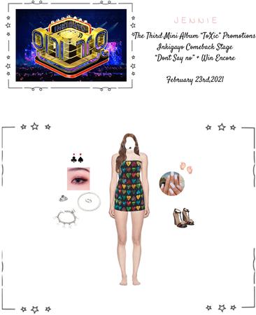"Lee Jennie || The Third Mini Album ""ToXic "" Promotions: Inkigayo Performance {02.23.2021}"