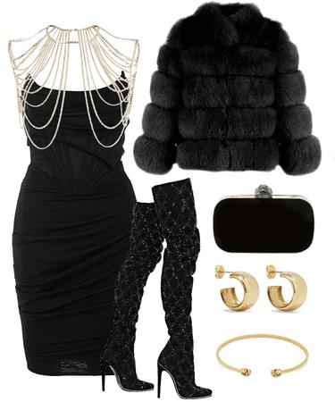 black & gold nye