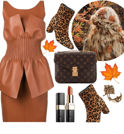 FALL TREND: Leather And Leopard