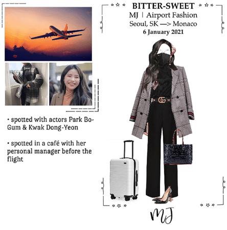 BITTER-SWEET [비터스뭣] (MJ) Airport Fashion 210506