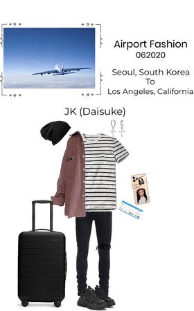 Airport Fashion- JK (Daisuke)