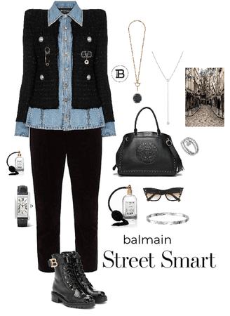Balmain street style