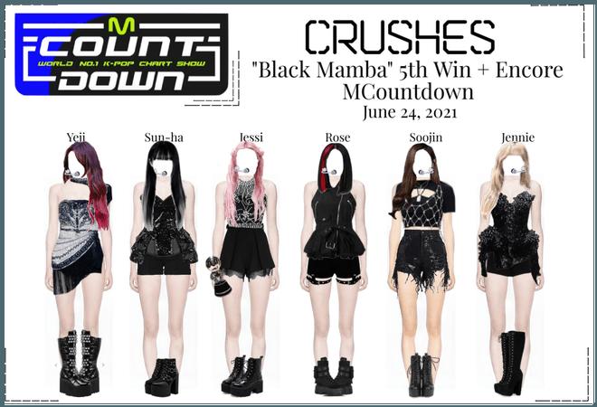 """Crushes (호감) """"Black Mamba"""" 5th Win"""