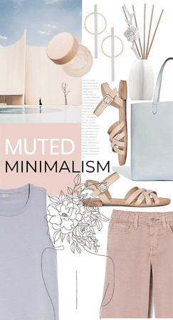 muted minimalism