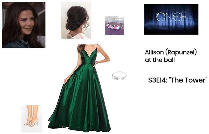 OUAT: Allison (Rapunzel): Flashback: S3E14