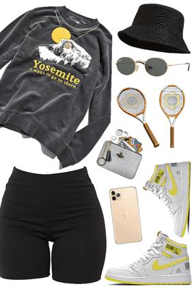 tennis / sports | sporty | biker shorts