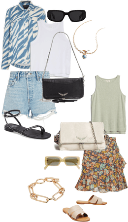 2 outfit options for summer nights 💙