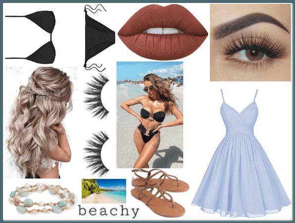 Black Bikini -- for @looksbylyla challenge