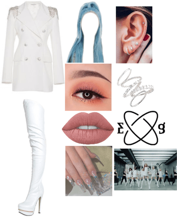 EVERGLOW 7TH MEMBER Jennie Comeback Outfit #1