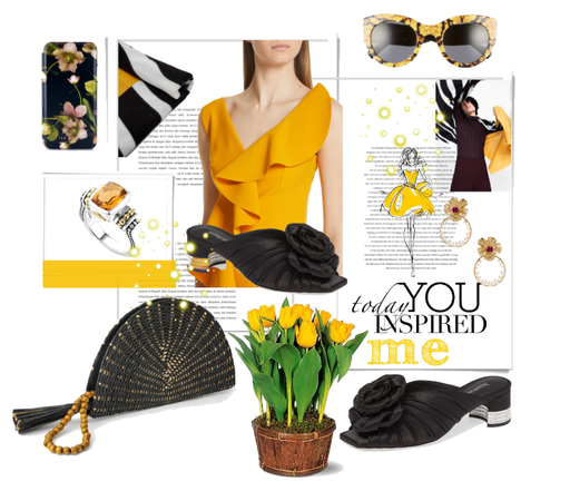 yellow & black girl