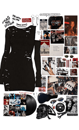 the album achtung baby as an outfit