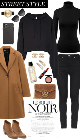 Black and Brown Winter Style