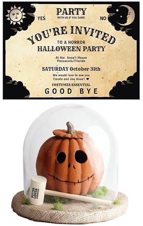 💖Carola💖Halloween Party Invitations