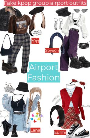 AIRPORT FASHION fake kpop group