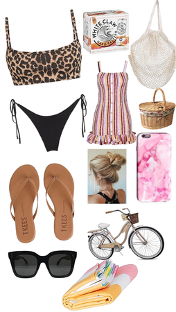 going to the beach with friends