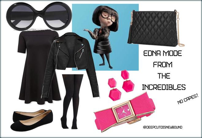 Edna Mode The Incredibles Disneybound