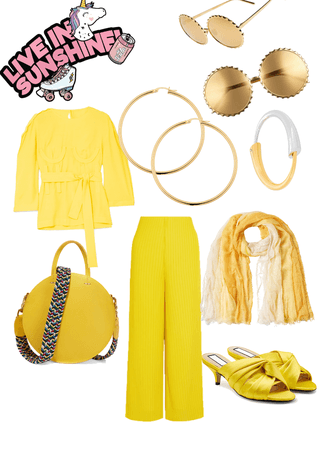 It's all about yellow