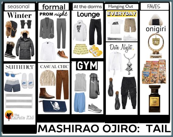 Mashirao Ojiro's Closet