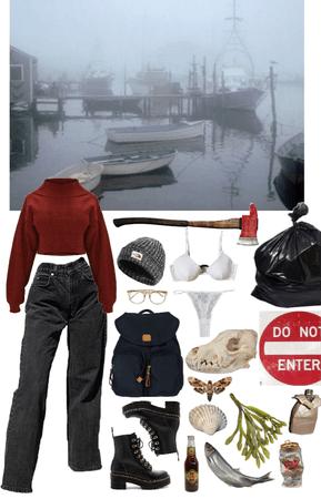shady fishing town