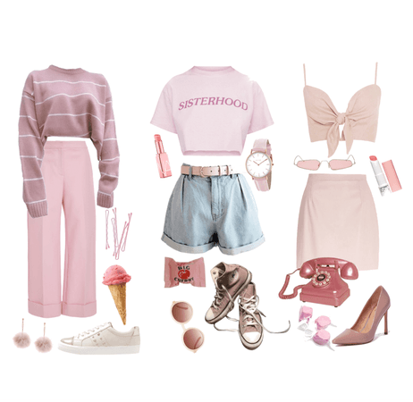 which pink outfit are you?