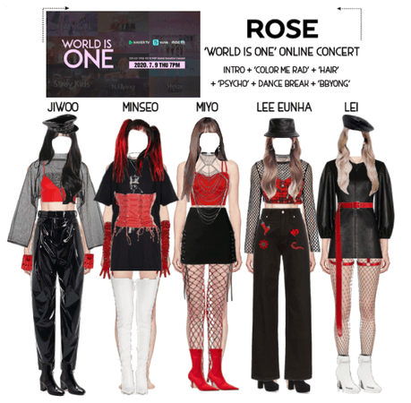 {RoSE} 'WORLD IS ONE' Online Concert