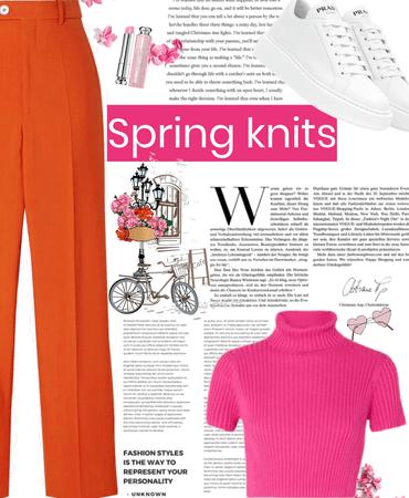 spring knits wear