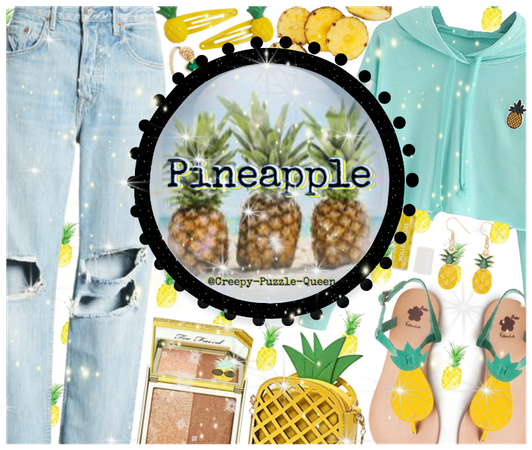 #Pineapple #Jeans-&-Cute-Top-Outfit-Challenge