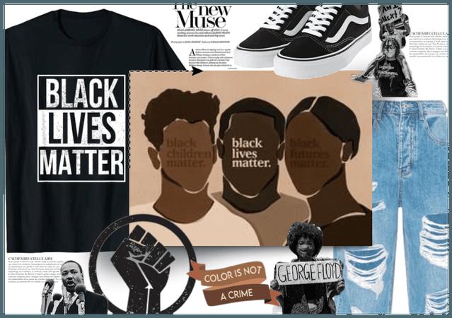 Dress for a cause : Black Lives Matter