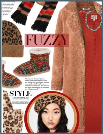 fuzzy texture