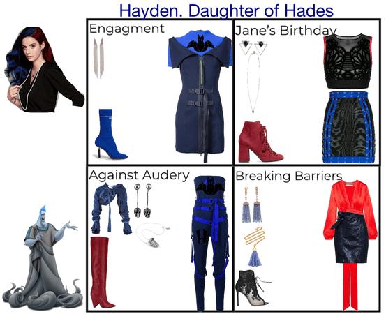 Hayden. Daughter of Hades. Descendants 3