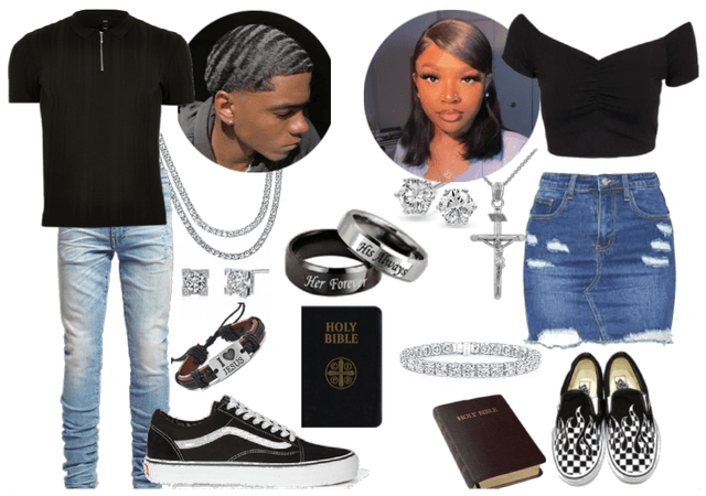 going to church with bae would be like 🤍✝️💕🥰🤝✨