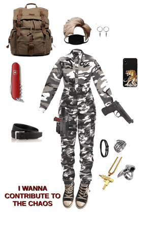 Backpacker/Hunter outfit...