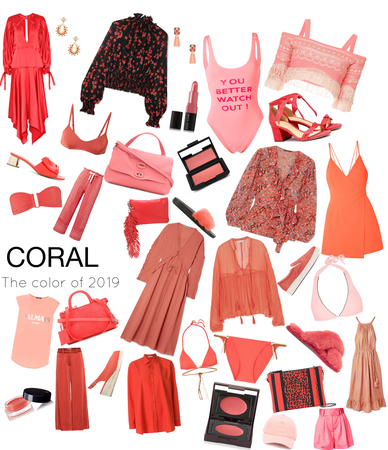 CORAL; Color Of 2019