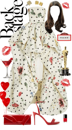 just imagine winning an oscar in this