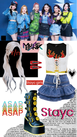 ASAP~ Stayc stage outfit