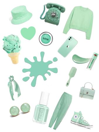 mint green bby